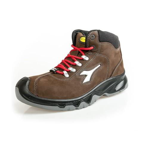 Buty robocze trzewiki DIADORA DIABLO HIGHT S3 SRC brązowe kat. 2